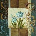 100% a mano- pintado de orquídeas de pintura al óleo venta al por mayor