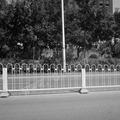 de metal barrera de seguridad vial
