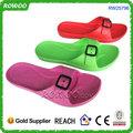 de alta calidad de lujo de eva deslizador de la mujer zapatillas