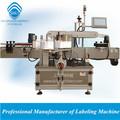 Automatique autocollant savon liquide Étiqueteuse machine sur le devant& back sides