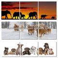 caliente la venta de los animales pinturas triptico