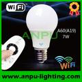 wifi 7w bombillas de luz led para la venta de china