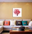 árboles abstractos Pintura decorativa cuadro de la pared colgante