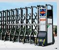 Metal design trackless electric retractable gate jinxiumen131-H