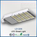 120 vatios de alto lumen alumbrado público LED con conductor de MEANWELL