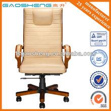 base de madera silla de oficina de madera silla ejecutiva