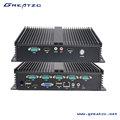 ZC-G1037U-6C Mini PC industrial sin ventilador,PC sin ventilador,el equipo de PC industrial