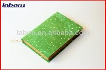 personalizada bolsillo verde cuadernos de leche y productos lácteos baratos al por mayor