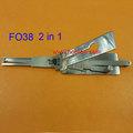 Original Lishi FO38 Ford ferramenta Seleção mul-t-lock e decodificador 2 em conjunto em1 genuíno