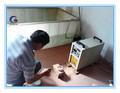 alta eficiencia de 1-8 kg de fusión por inducción de la capacidad de oro horno