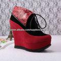 tobillo botas rojas 12cm