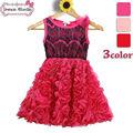 2014 nueva llegada de china de fábrica venta directa de cumpleaños para niños vestido para niña