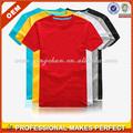 De alta calidad en blanco de algodón camisetas camisetas al por mayor ( ycs-077)