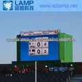 LAMP Alto Brillo P10 LED pantalla Estadio Unipol