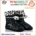 lantejoulas china botas para crianças