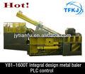 Y81/f-2000a de aluminio de cobre de acero de metal chatarra empacadora