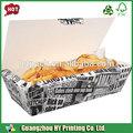 china fornecedor de papel caixa de batatas fritas