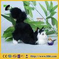 gato de nieve del cabrito lindo peluche de juguete de peluche gato disfrazado