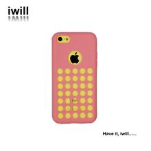 Para el teléfono móvil de la cubierta iphone 5c, cubierta del teléfono celular para el iphone 5c