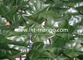 hojas artificiales de cobertura para adornos de jardín