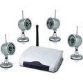 4 canales mini cámara de vigilancia inalámbrica a internet