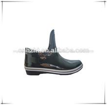 Moda antiga da injeção do pvc sapatas da chuva, calçados impermeáveis