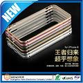 de metal de aluminio marco de parachoques caso para iphone6