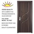 PVC porta interior de madeira do banheiro de plástico Porta Designs SC-P007