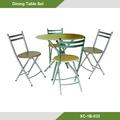 Muebles de Comedor - Juego de comedor MDF /metal 5 puestos XC-1B-035