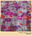 nuevo 2014 crepe impreso voile de algodón tejido de la tela