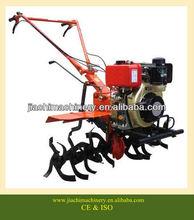 Mini motoculteur diesel cultivateur agricole barre mini jardin, 10hp motoculteur