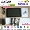 Mapan 3g tablet pc de la carte sim slot,chers comprimé 7 pouces avec le bluetooth gps wifi,3g android tablet