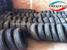los neumáticos usados en venta al por mayor a granel de los neumáticos usados