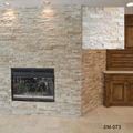 Baldosas de piedra caliza de color beige 15x60cm