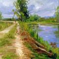 paisagens pintura em tela