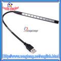 de alta calidad 5v usb flexible de luz led bombilla de la lámpara coninterfaz usb