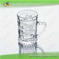 utiliza la barra de vidrio transparente taza de café para uso cotidiano