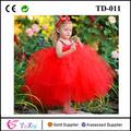 punto blanco tapa del tanque de niña vestido rojo de baby girl tutu