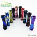 RainbowHeaven Pyrex 510 Drip Tips Vapor Líquido E-cigarrillo