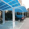 canopy de techo de policarbonato