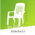 , cadeiras de encosto alto empilháveis poltrona única poltrona, ao ar livre plástico empilháve