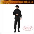 negro uniforme militar táctica uniforme