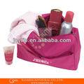Fashional organizador de cosméticos; bolsa de cosméticos