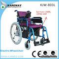 personas con discapacidad de aluminio del motor eléctrico del fabricante de sillas de ruedas