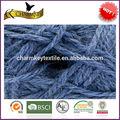 sin cardar voluminosos de color sólido caliente de la venta de tejer a mano de acrílico hilado de lana