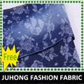 Flor jacquard denim e vestuário fábrica calças jeans tecido