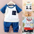 Conjunto de roupas, verão das crianças conjunto, jogos de crianças 2014