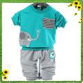الصين استيراد أحدث صيحات الموضة ملابس الاطفال ملابس طفلة النسخة الكورية من اثنين-- قطعة الطفل كارتر ملابس للأولاد