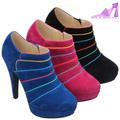 botines botas zapatos tacón alto plataforma de mujer