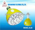 2 em 1 led lâmpada de emergência/luzes led emergência/elétrica poupança de energia levou lâmpada com controle remoto universal